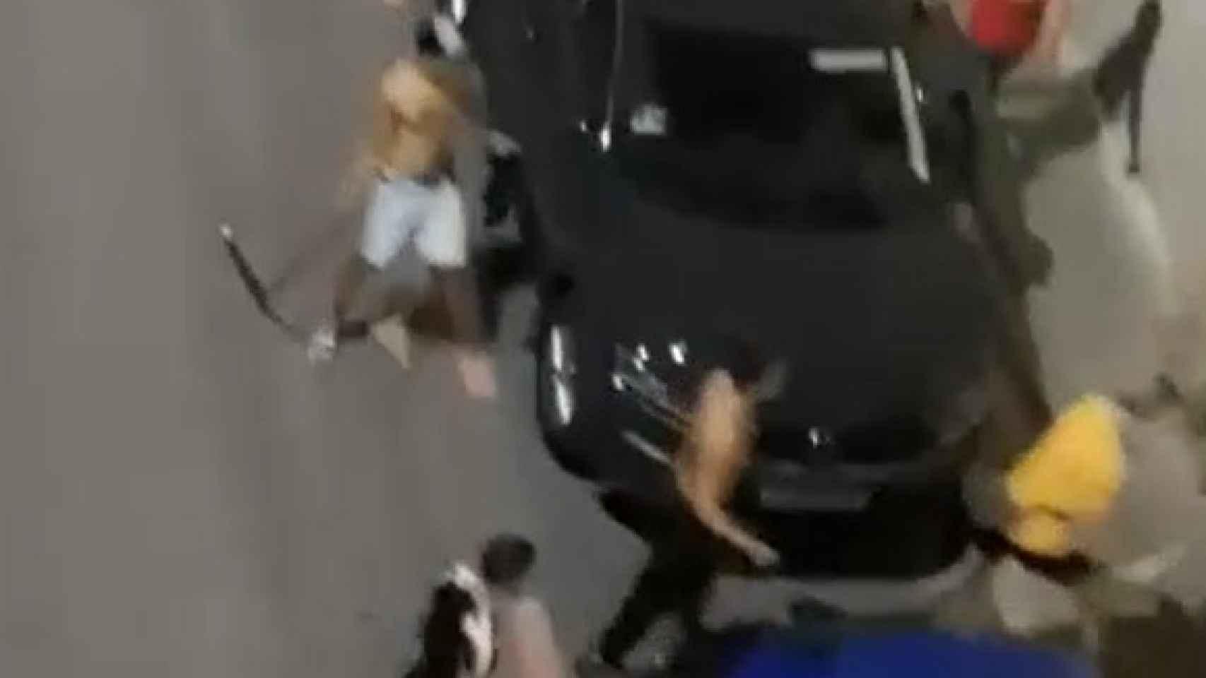 Vídeo vecinal de la reyerta con palos en Alicante ciudad