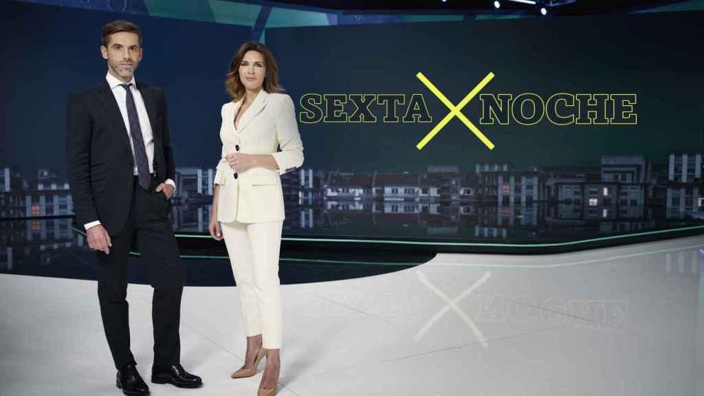 José Yélamo y Verónica Sanz presentarán 'laSexta Noche' en la nueva temporada.