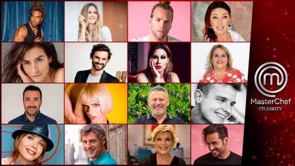 Casting completo de 'MasterChef Celebrity 6'.