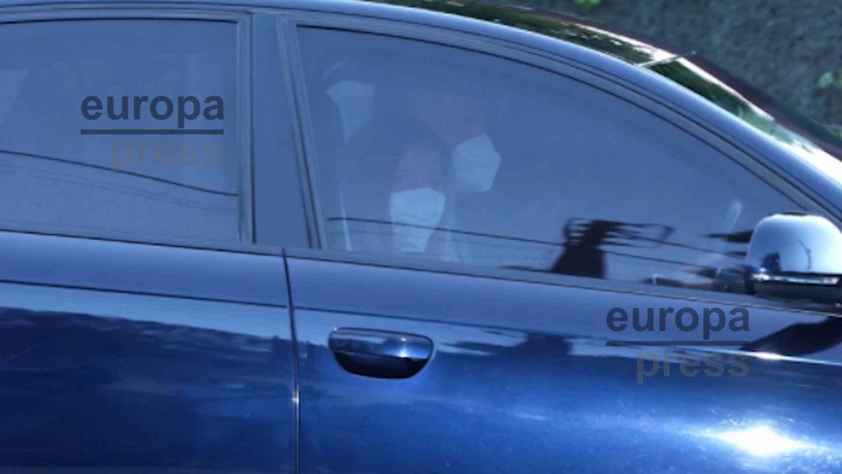 La Infanta Sofía, primer día de colegio sin la Princesa Leonor a su lado