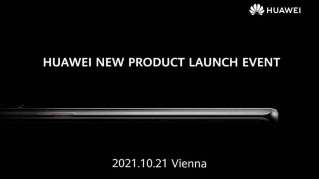 Imagen del evento de Huawei