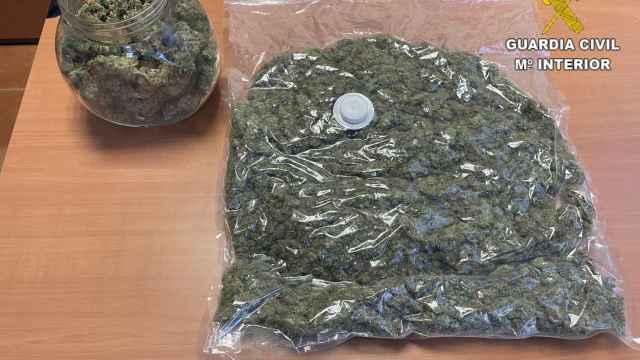 Marihuana intervenida por la Guardia Civil. Foto de recurso.
