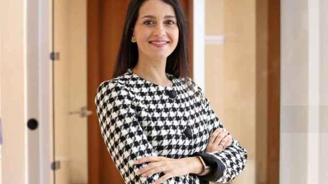Inés Arrimadas, presidenta de Ciudadanos, antes de su última entrevista con El Español.