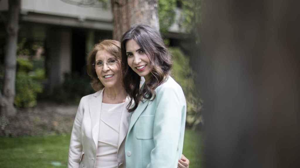 Felicidad Carrera y su hija Letizia, que lideran uno de los centros médicos estéticos más importantes del país.
