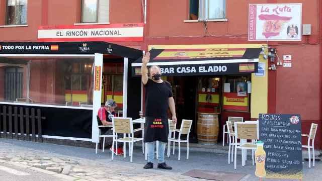 'Casa Eladio', el bar franquista de Ávila