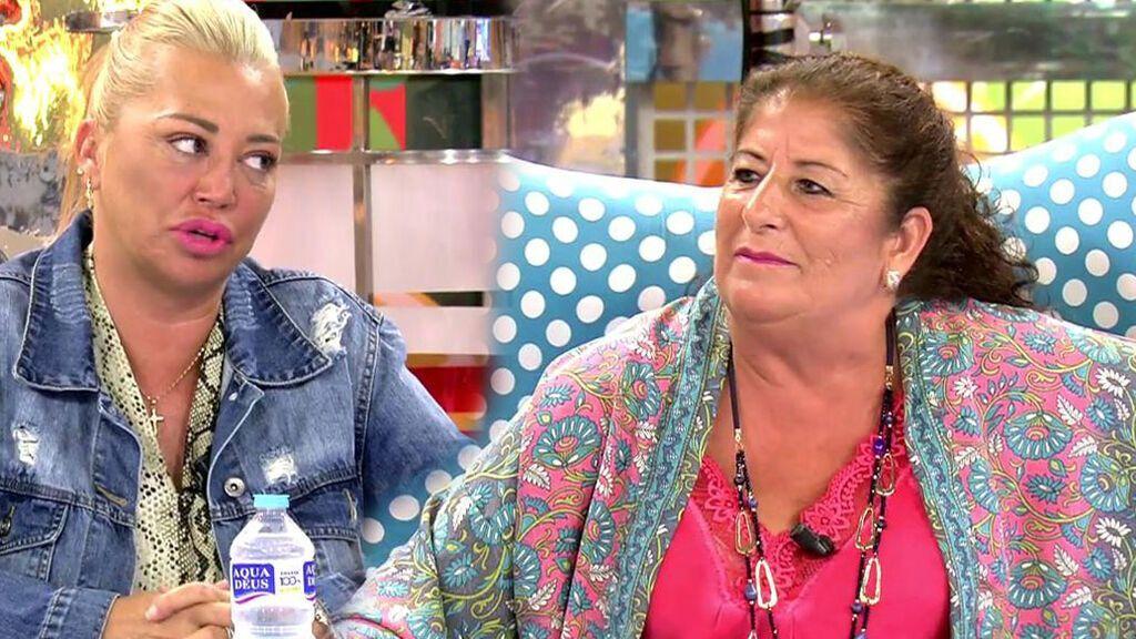 Belén Esteban y Magdalena, tía abuela de Anabel Pantoja, en 'Sálvame'