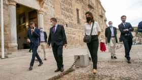 Emiliano García-Page, presidente de Castilla-La Mancha, recibe a Christelle Morançais