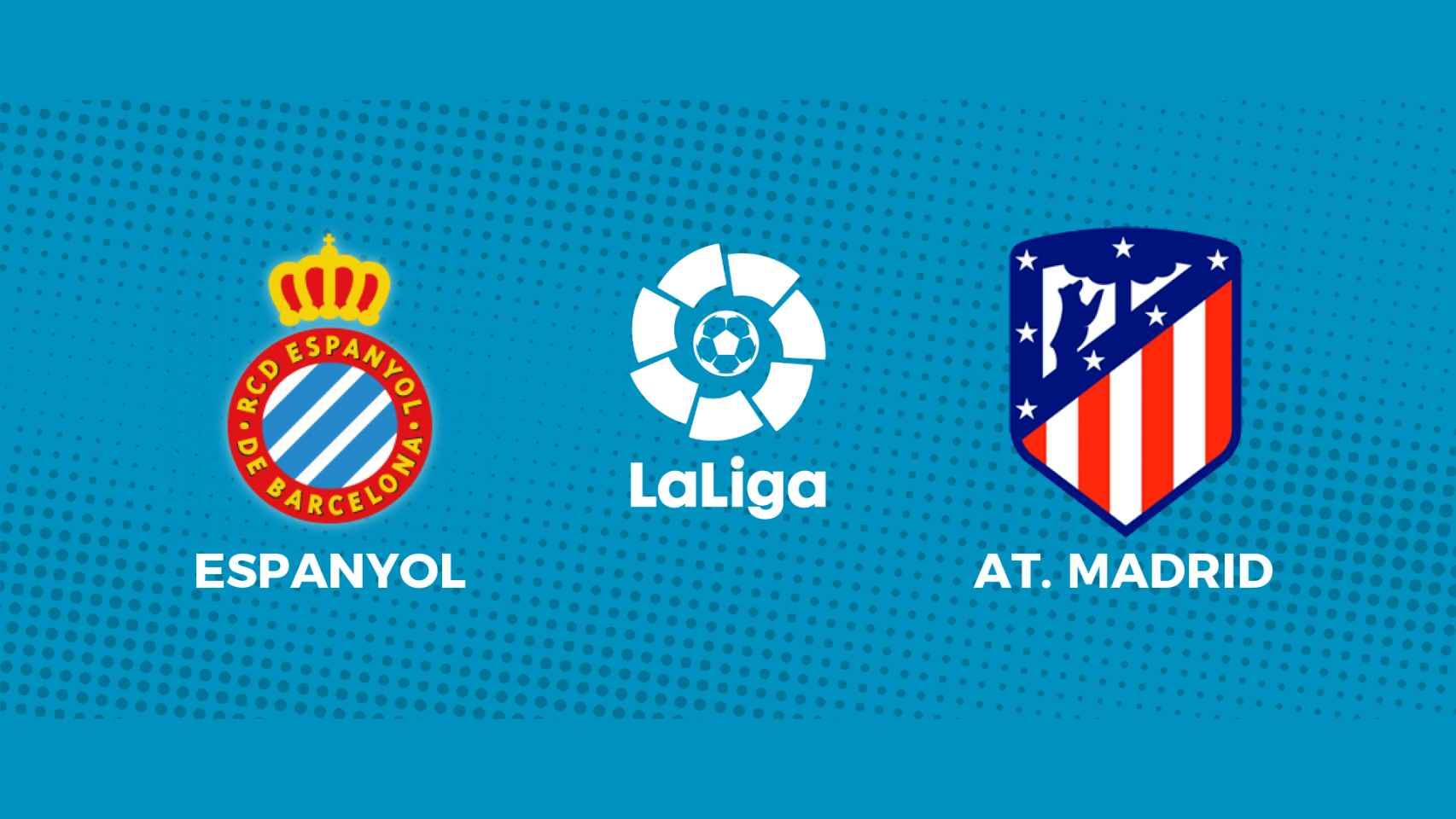 Espanyol - Atlético de Madrid: siga en directo el partido de La Liga