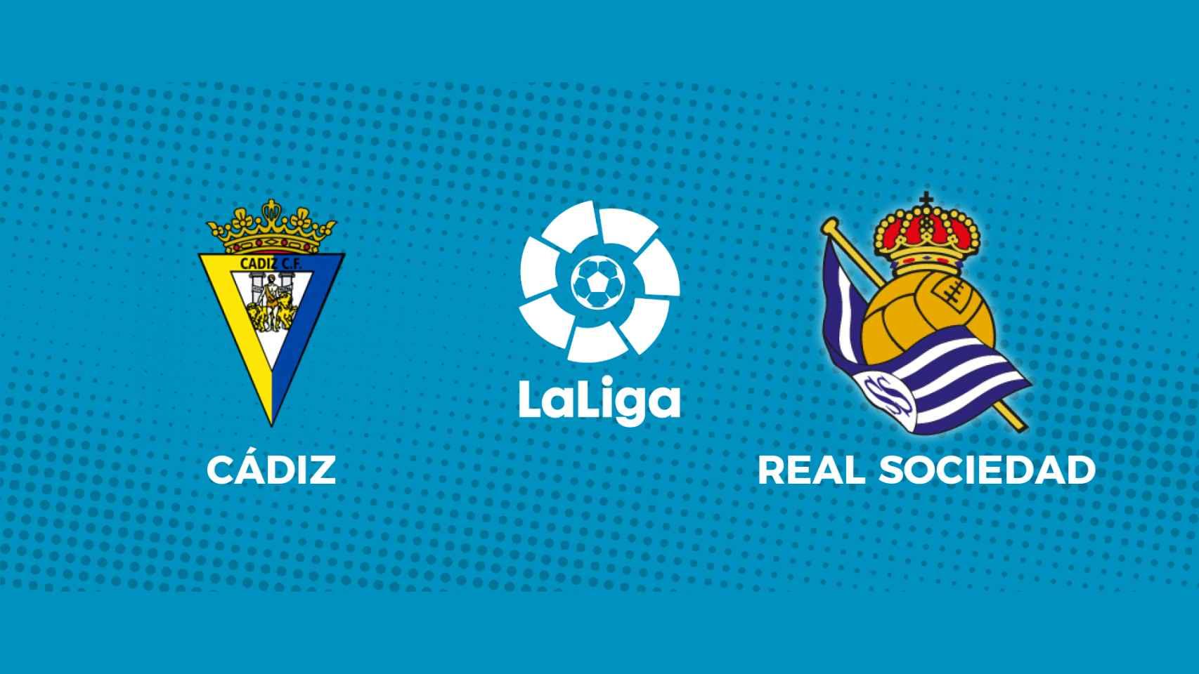 Cádiz - Real Sociedad: siga en directo el partido de La Liga