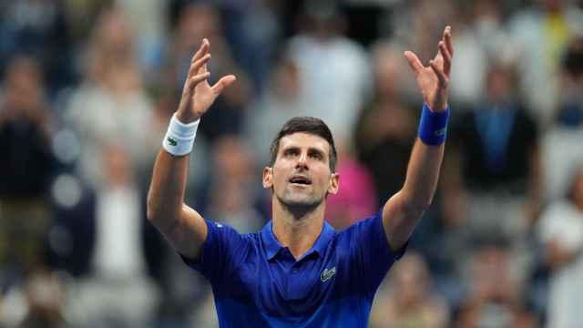 Novak Djokovic, en el US Open