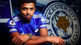 Fofana, con el Leicester City