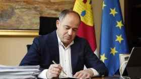 Emilio Sáez, alcalde de Albacete