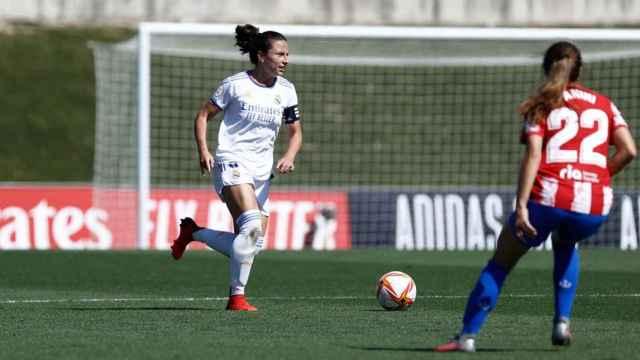 Ivana Andrés en el Real Madrid Femenino - Atlético de Madrid