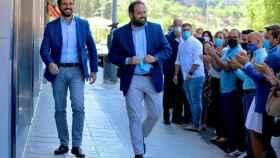 La foto y el mensaje de Casado para arropar a Núñez como candidato