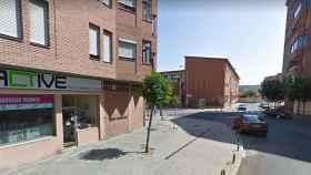 Calle Daoiz y Velarde leon
