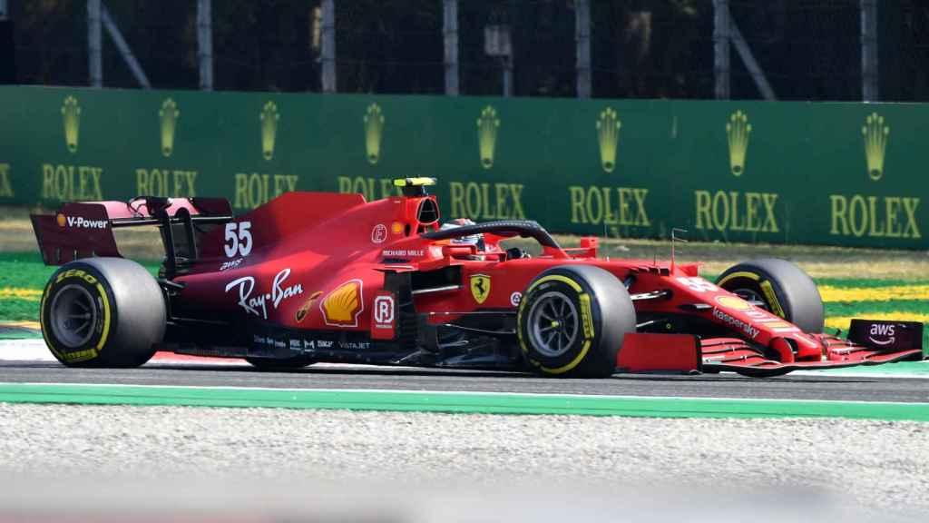Carlos Sainz en el Gran Premio de Italia