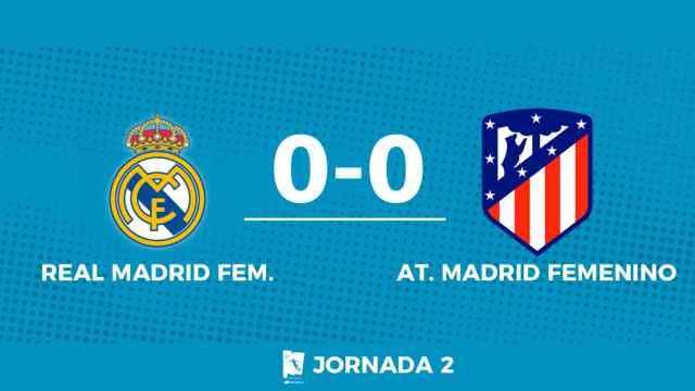 Streaming en directo | Real Madrid Femenino - Atlético de Madrid