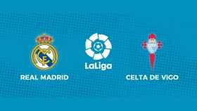 Real Madrid - Celta de Vigo: comenta en directo con nosotros el partido de La Liga