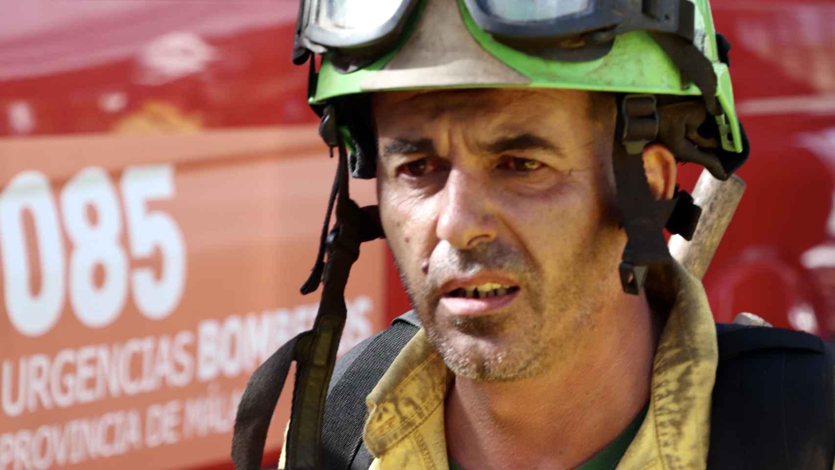 Fotos del cuarto día de lucha contra el fuego en Sierra Bermeja, Málaga.