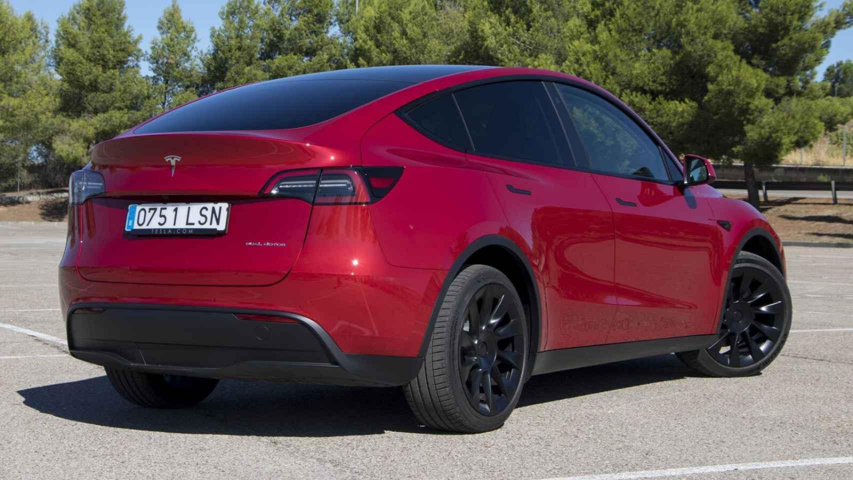 Tesla Model Y: todas las fotos de este nuevo SUV eléctrico