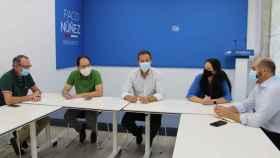 Carlos Velázquez, este lunes en la reunión de la vicesecretaría de Acción Electoral del PP de Toledo