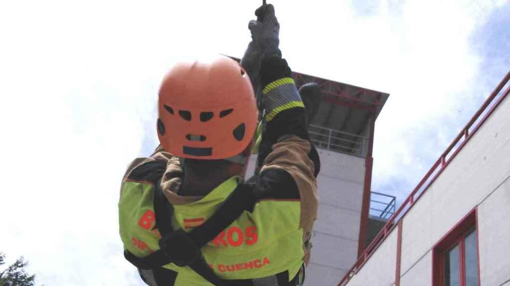 Imagen de recurso de los bomberos de Cuenca.