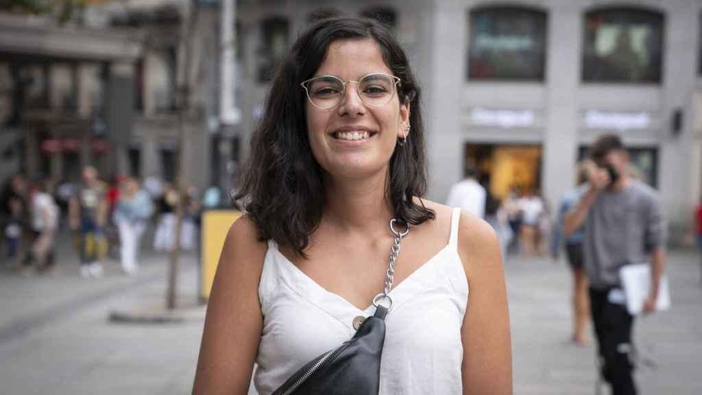 Belén, educadora social de 24 años.