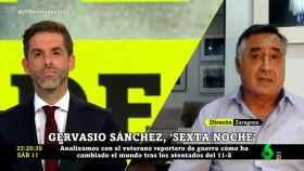 Gervasio Sánchez ha recordado que el gobierno de Aznar presionó a Atresmedia por las informaciones de Ricardo Ortega.