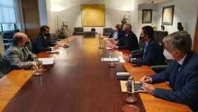 Reunión de Suárez Quiñones con el presidente de Renfe
