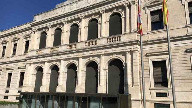 Archivo - Sede del TSJCyL y de la Audiencia  Provincial en Burgos.