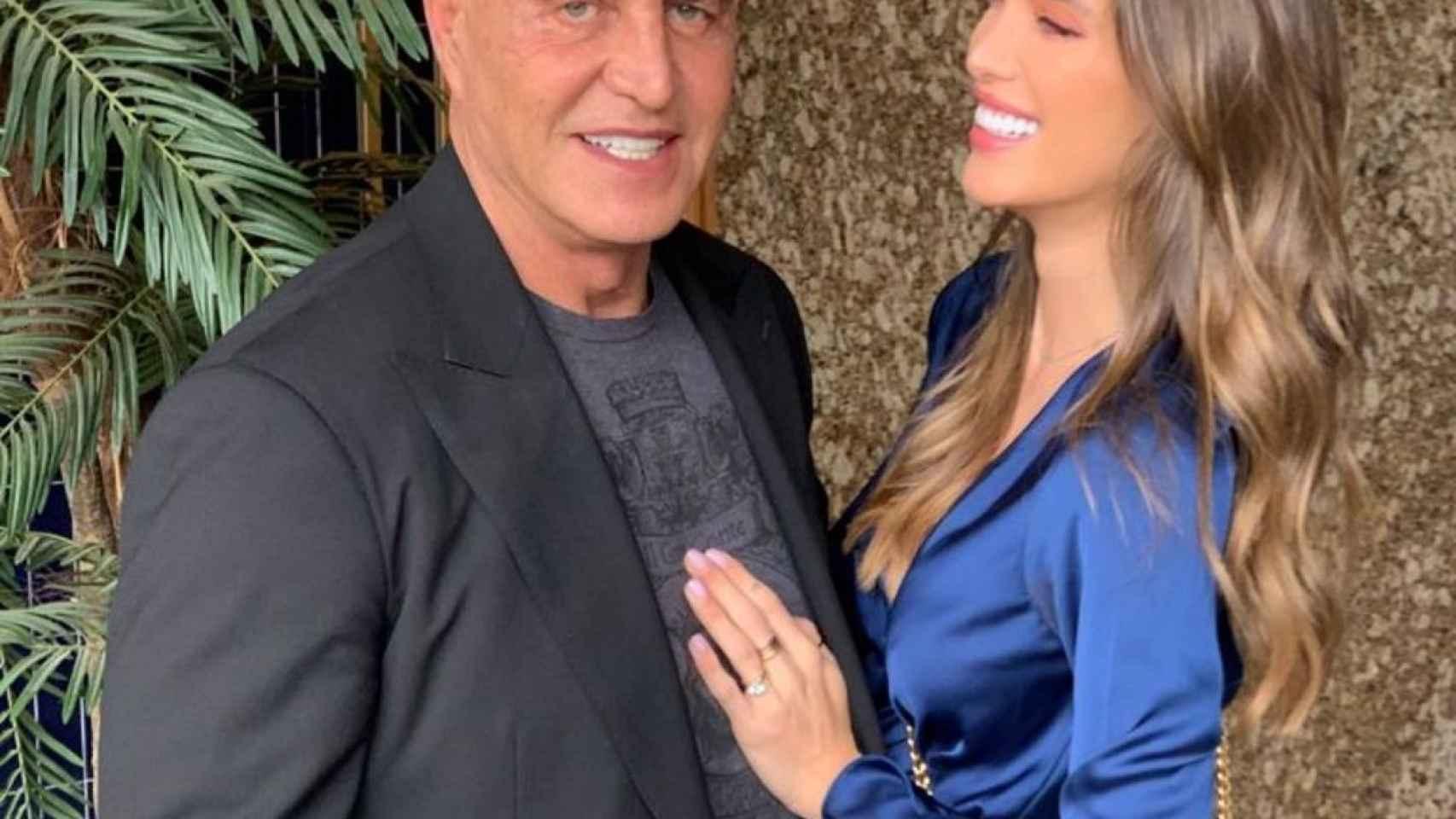 Kiko Matamoros y su novia, Marta López Álamo, en una imagen de sus redes.