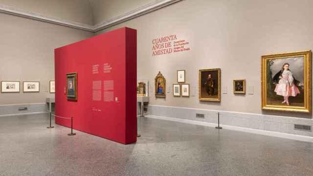 Imagen de la sala de exposición.
