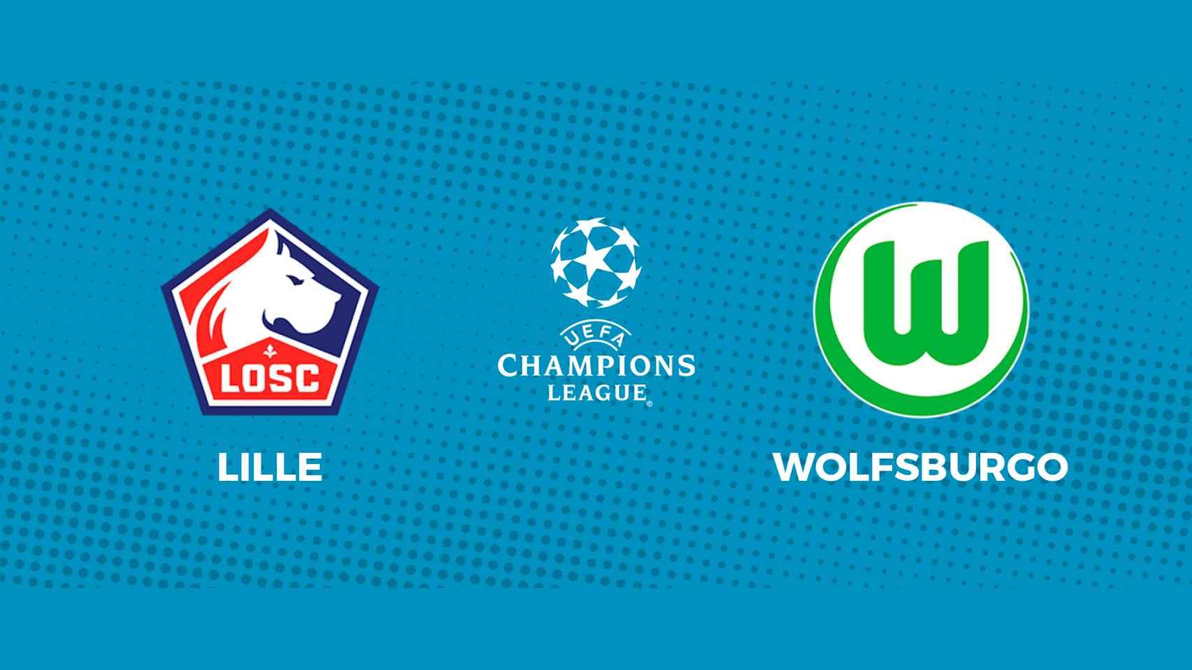Lille - Wolfsburgo: siga en directo el partido de la Champions League