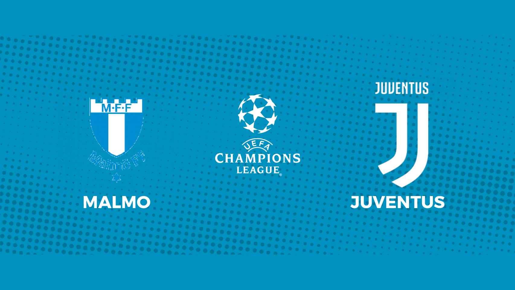Malmo - Juventus: siga en directo el partido de la Champions League