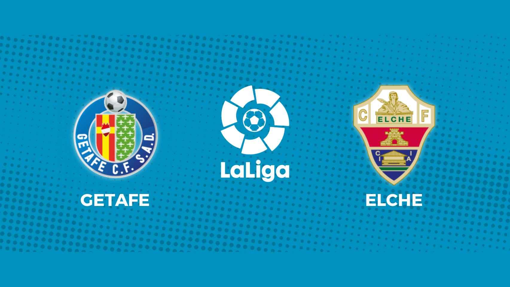 Getafe - Elche: siga en directo el partido de La Liga