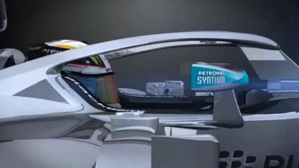 Halo diseñado por Giorgio Piola en colaboración con Mercedes