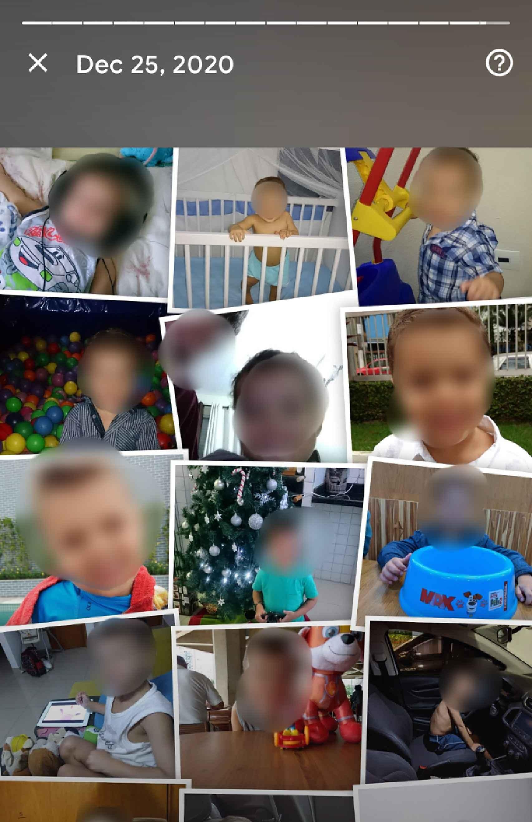 Google Fotos con collage