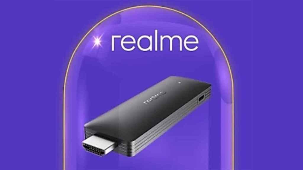 Realme muestra su stick TV con Google TV: es la primera alternativa a Chromecast TV
