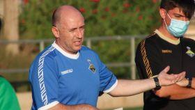 David Peinado, entrenador del Quesos La Casota FF La Solana