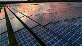 Energía solar. Imagen de archivo