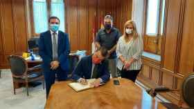 Francisco Martínez Arroyo, consejero de Agricultura, Agua, y Desarrollo Rural, en la Diputación de Cuenca