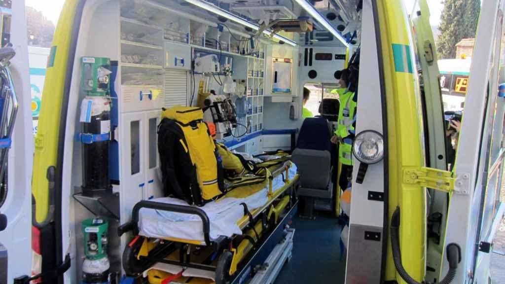 Rescatan a tres septuagenarios tras caer a una zona de difícil acceso en Molinicos (Albacete)