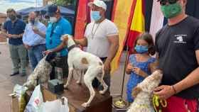 Los mejores perros de caza del país se dan cita en Santa Olalla
