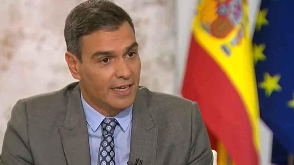 Pedro Sánchez , en TVE.
