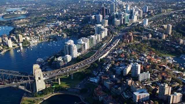 Carretera en Sídney que será mejorada por Cimic.