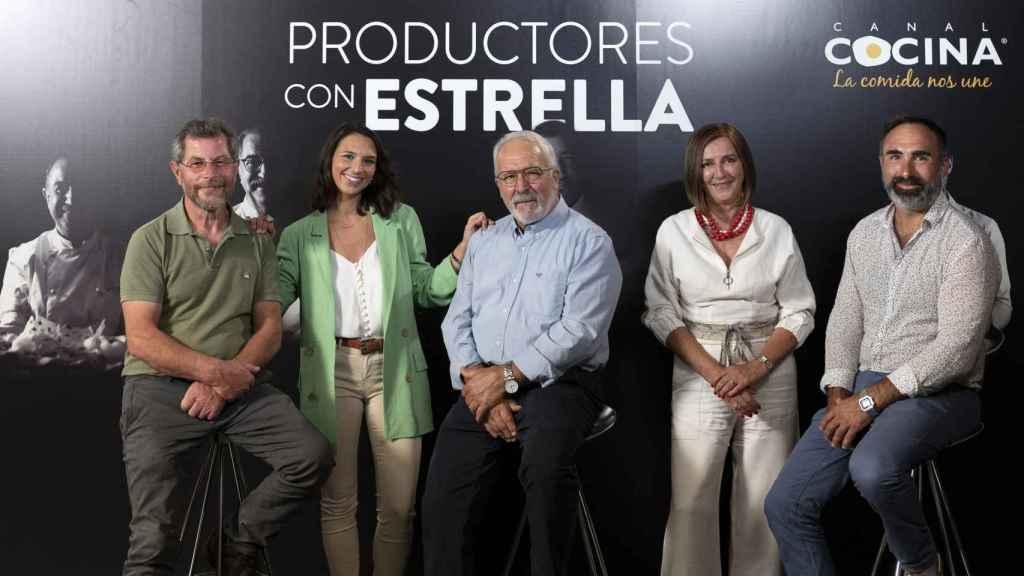Javier Campo, Verónica Zumalacárregui, Pako Goenaga, Mandi Ciriza y Rafa Monge