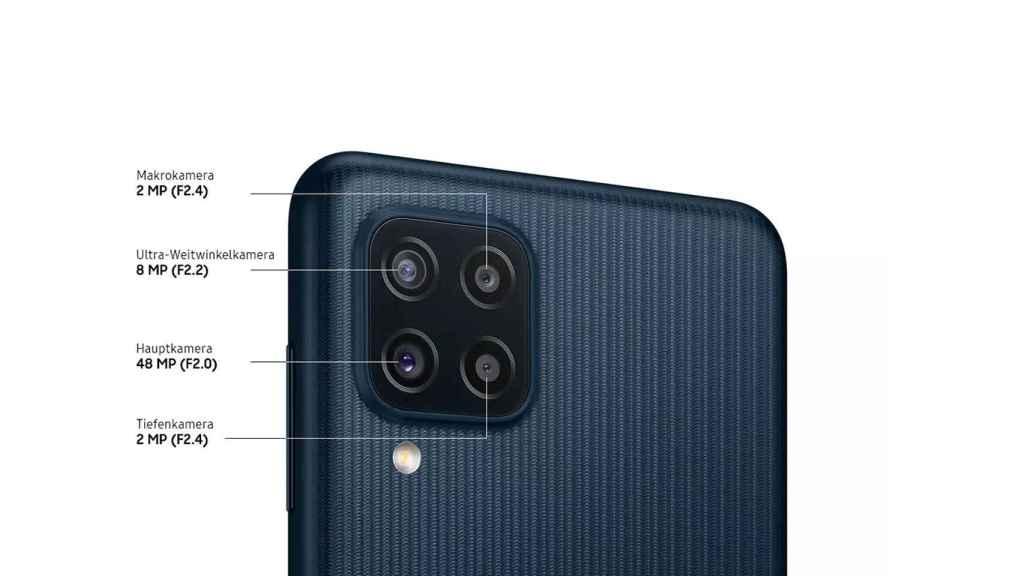 Samsung Galaxy M22 camaras