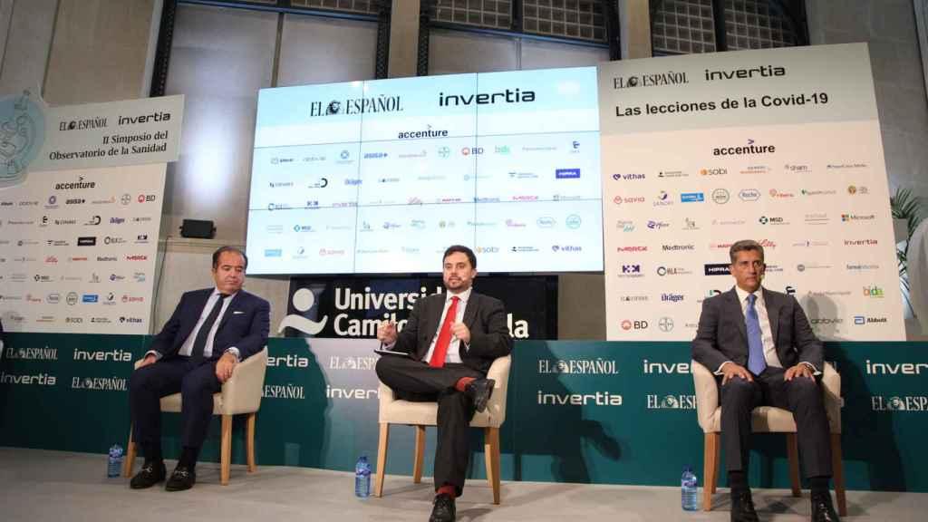 Sergio Rodríguez, Arturo Criado y Juan Carlos Gil.