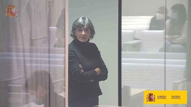 La exjefa de ETA 'Anboto', María Soledad Iparraguirre, durante uno de los juicios.