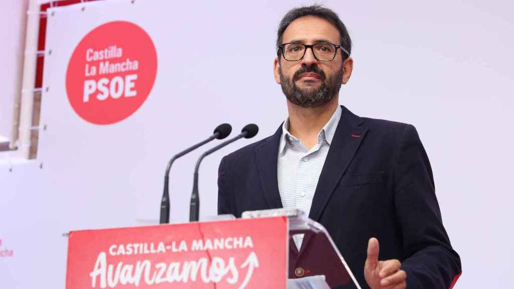 Sergio Gutiérrez, secretario de Organización del PSOE de Castilla-La Mancha. Foto: Óscar Huertas